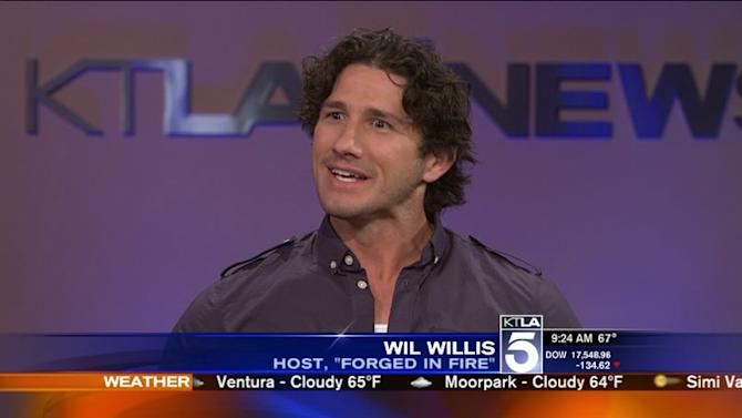 Wil Willis Gears Up to Host `Forged in Fire`