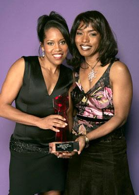 Regina King and Angela Bassett Hollywood Life's 4th Annual Breakthrough of the Year Awards - 12/12/2004