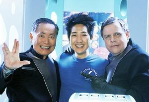 George Takei, Tim Jo and Mark Hamill | Photo Credits: Richard Cartwright/ABC