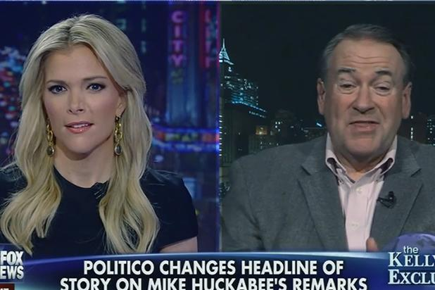 Fox News' Megyn Kelly Sets Mike Huckabee Straight on 'Trashy' Women Comments (Video)