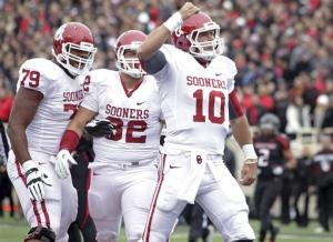 No. 17 Oklahoma upends Texas Tech 41-20