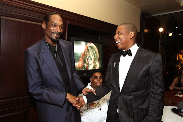Snoop Dogg JayZ Grmmy Prty
