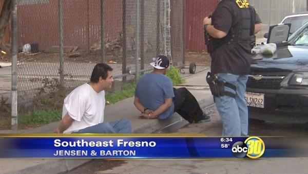CHP arrests two gang members for auto theft