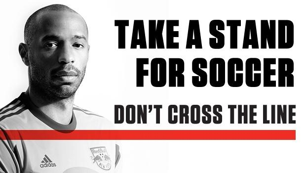 "MLS & AS Roma unite for ""Don't Cross the Line"" campaign, to be featured at 2013 AT&T MLS All-Star Game"