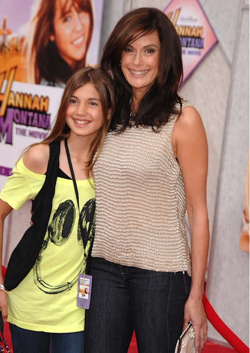 The Hannah Montana Movie LA premiere 2009 Teri Hatcher