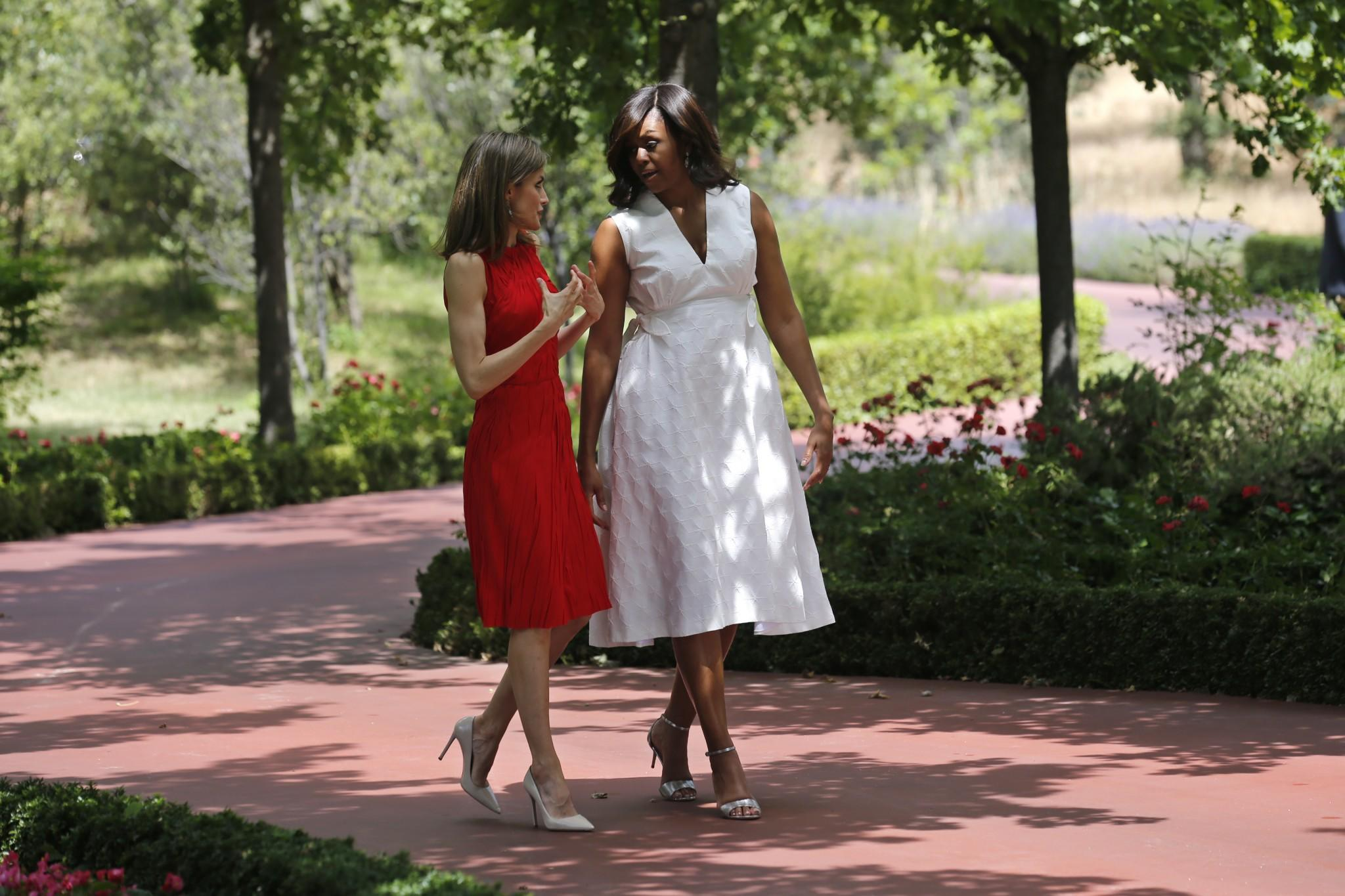 Michelle, Malia and Sasha Obama travel abroad to promote 'Let Girls Learn' initiative