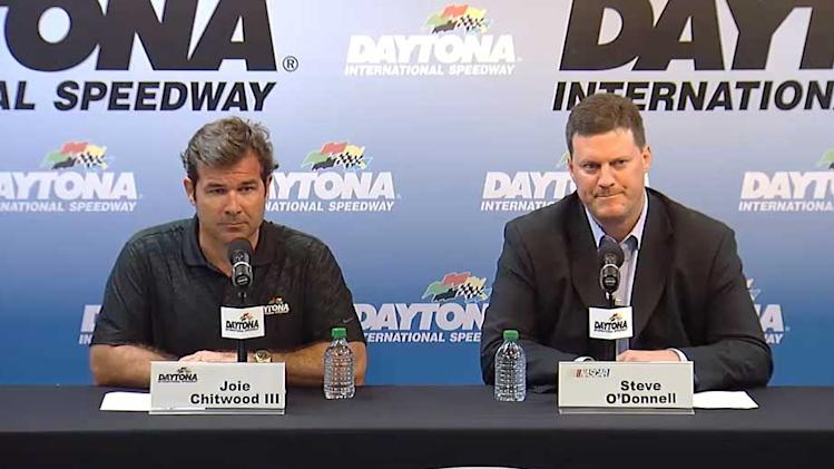 Chitwood, O'Donnell Address Media Following NNS Crash