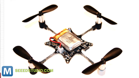 Tiny Open-Source Quadcopter Goes up for Preorder