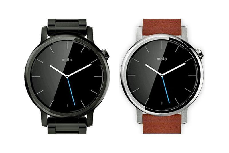 Leaked renders reportedly show the upcoming Moto 360 Sport