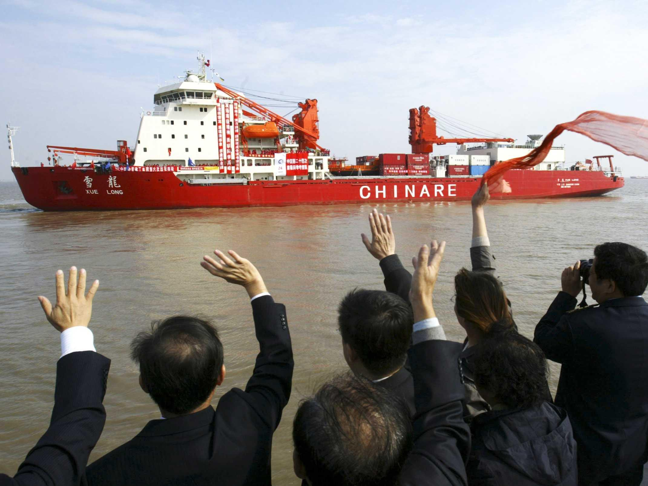 China is making moves in Antarctica