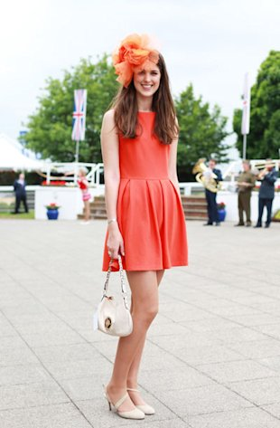Style Hunter From Epsom Derby: The Skater Dress Gets A Glam-Over!