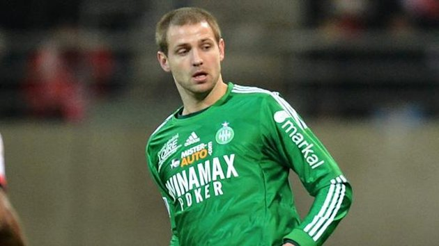 Mathieu Bodmer of Saint-Etienne (AFP)