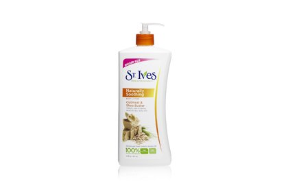 NO. 3: ST. IVES SOOTHING OATMEAL SHEA, $2.89