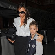 Victoria & Romeo Beckham's Day Out!