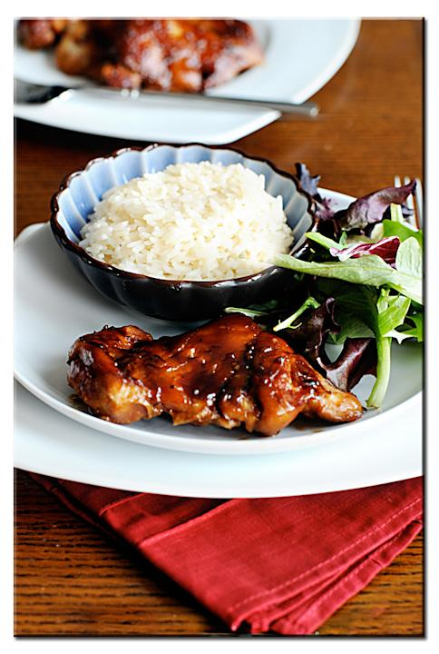 Oven-Baked Teriyaki Chicken