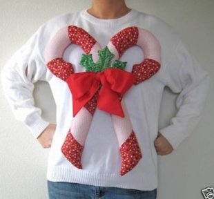 An ugly sweater that's not for sale. Boo. (Photo courtesy of Get Off My Internets)