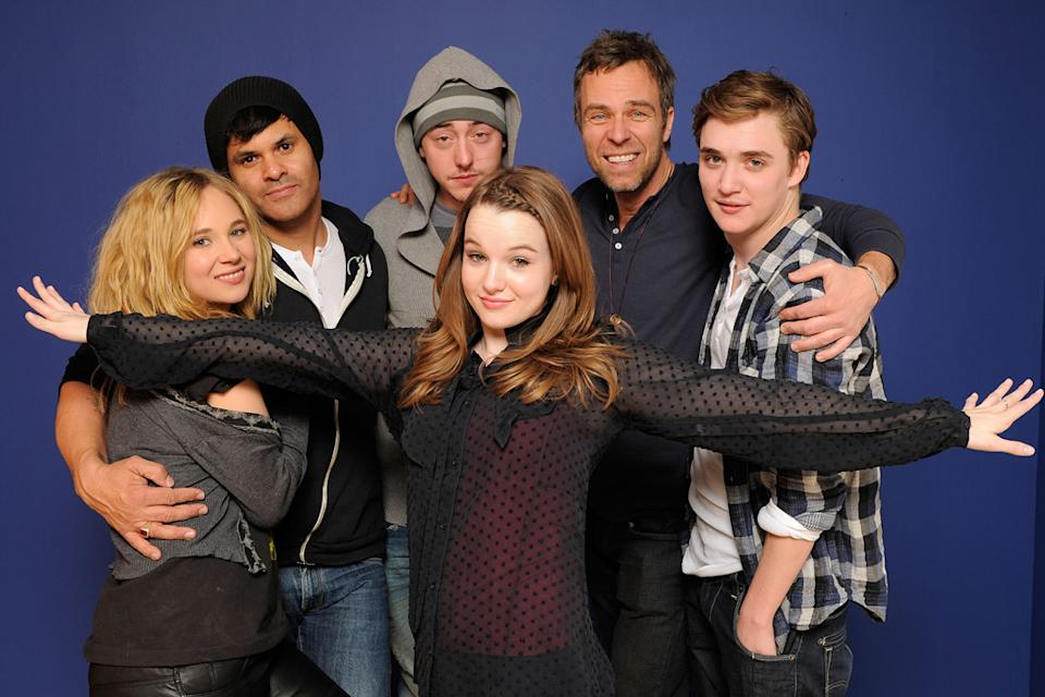 Sundance 2011 Portraits Juno Temple Elgin James Chris Coy Kay Panabaker JR Bourne Kyle Gallner