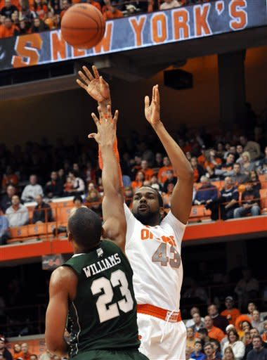 No. 8 Syracuse beats Wagner 88-57
