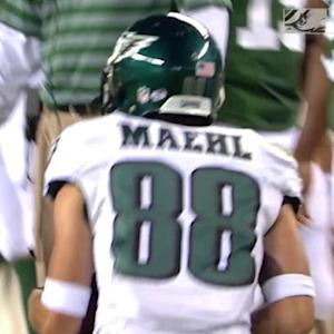 Philadelphia Eagles wide receiver Jeff Maehl 32-yard reception