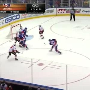Karri Ramo Save on Anders Lee (00:36/1st)