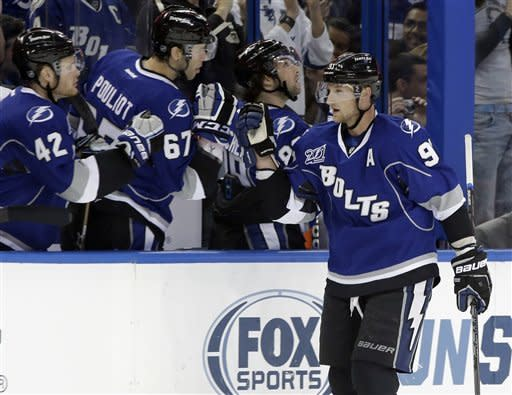Conacher has 2 goals as Lightning beat Jets 8-3