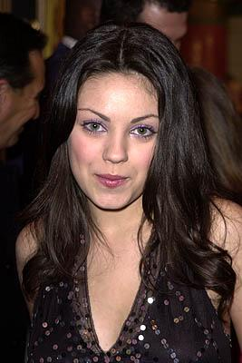 Premiere: Mila Kunis at the Westwood premiere of Dimension's Get Over It - 3/8/2001