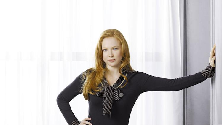 "Molly Quinn stars as Alexis Castle in ""Castle."""