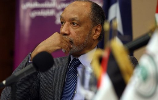 President of the Asian Football Confederation (AFC) Mohamed Bin Hammam attends a press conference in the West Bank city of Ramallah in March 2011. The AFC has extended Hammam's provisional suspension by 20 days