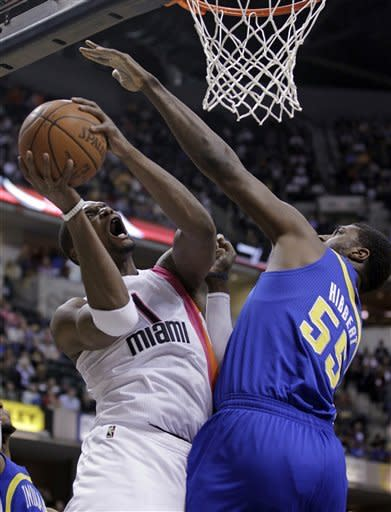 Granger scores 25 as Pacers beat Heat 105-90