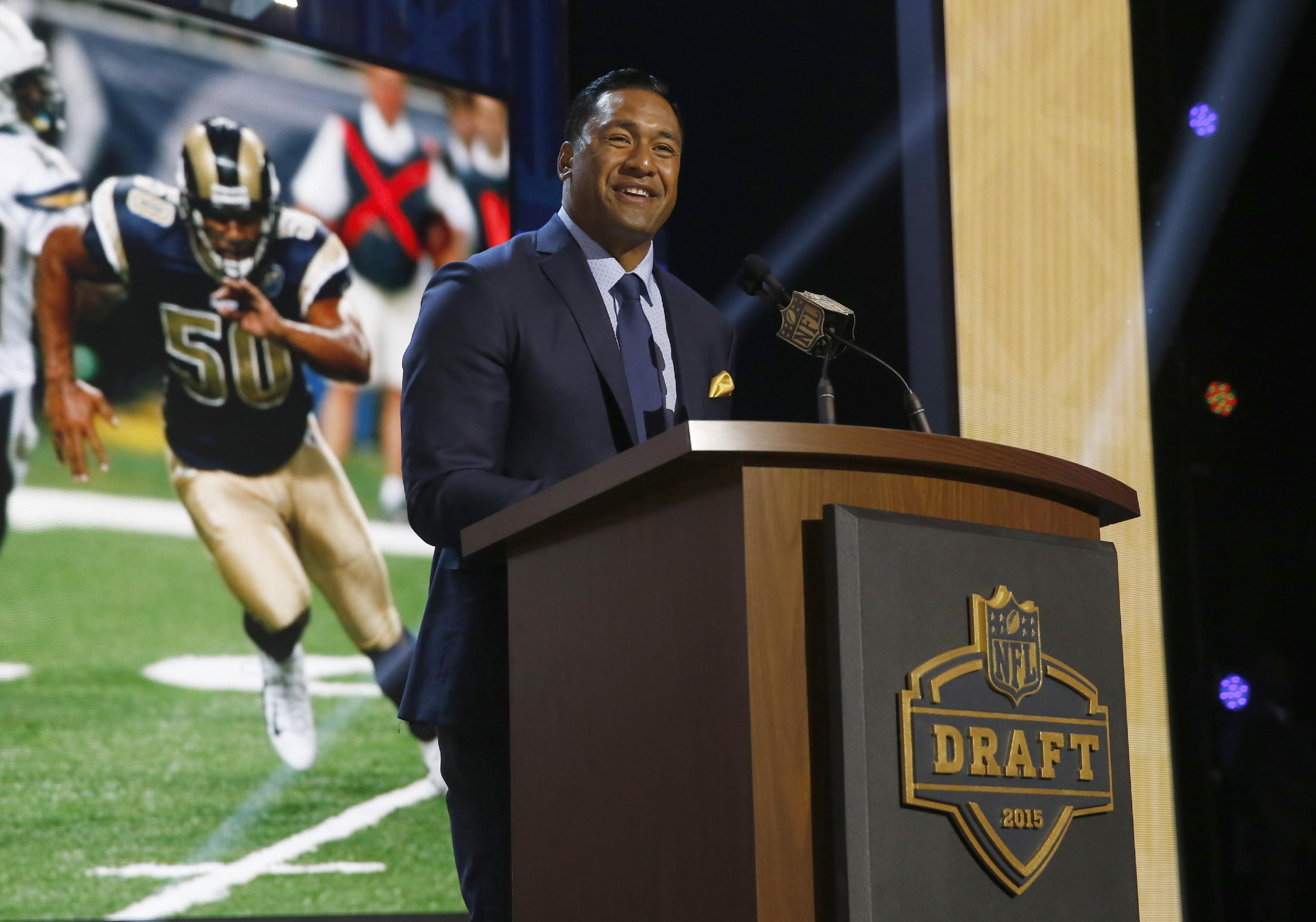 Rams lean heavily on offense with 7 of 9 picks in draft