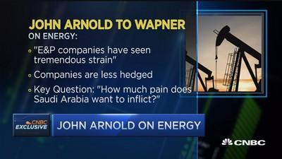 John Arnold to CNBC: Energy companies less hedged
