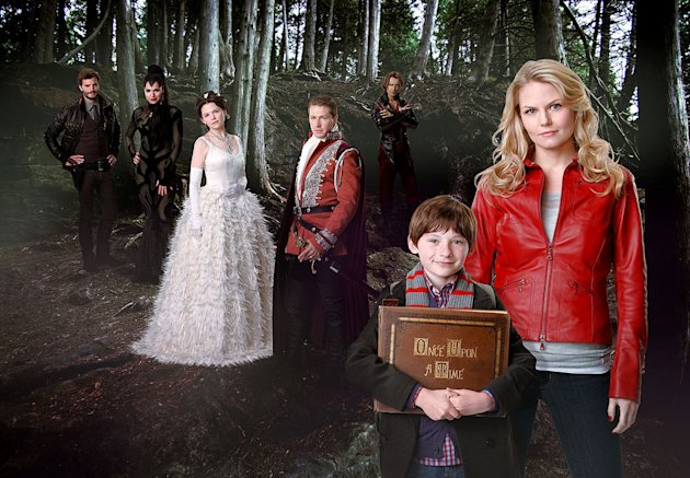 "The cast of ""Once Upon a Time."""
