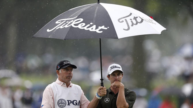 Golf: US PGA Championship-Second Round