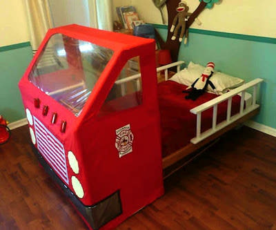 Fire Engine Toddler-bed!