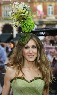 Sarah Jessica Parker while promoting the