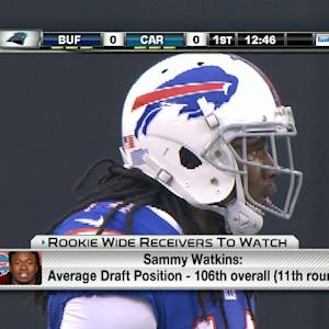 'NFL Fantasy Live': Rookie wide receivers to watch