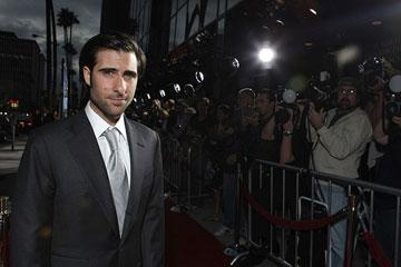 Jason Schwartzman at the Los Angeles premiere of Fox Searchlight's The Darjeeling Limited