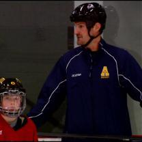Hejduk Passes Along His Hockey Knowledge