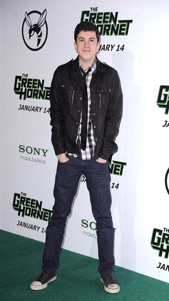 The Green Hornet LA Premiere 2011 Christopher Mintz Plasse