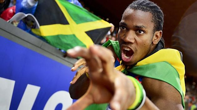 2012 Zurich Yohan Blake
