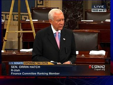 Moment of Zen: Orrin Hatch's Plea