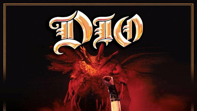 """This CD cover image released by Eagle Rock Entertainment shows """"Finding the Sacred Heart: Live in Philly 1986,"""" by Dio. (AP Photo/Eagle Rock Entertainment)"""