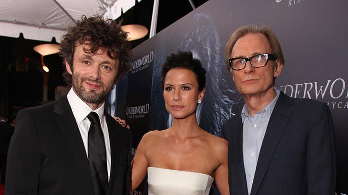 Underworld 3 LA Premiere 2009 Michael Sheen Rhona Mitra Bill Nighy