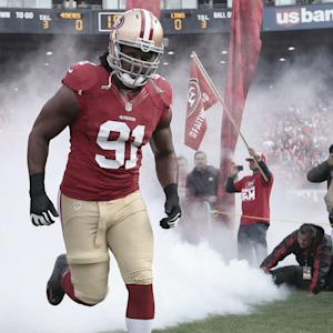 49ERS LINEMAN ARRESTED