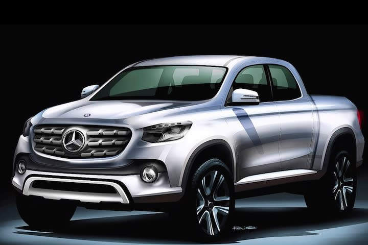 This Mercedes Pickup is Either Awesome or an April Fools' Joke