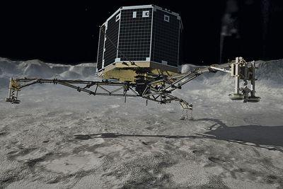 Philae is still lost on a comet. The Rosetta probe might go search for it.