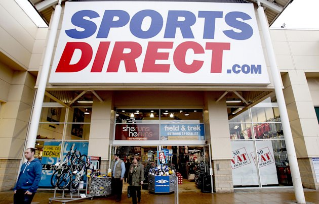File photo File photo dated 4/1/2011 of a Sports Direct shop at the Speke Retail Park, Liverpool as a record-breaking profits haul from retailer Sports Direct International ensured more bonus cheer for thousands of shop workers ahead of a bumper share windfall set to pay out next month.