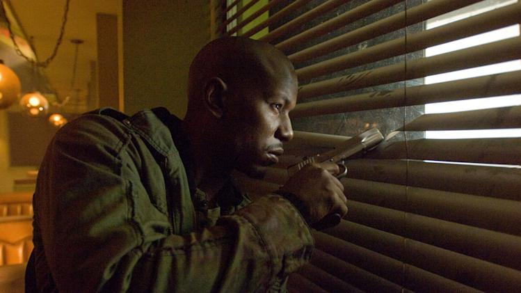 Tyrese Gibson Legion Production Stills Screen Gems 2010