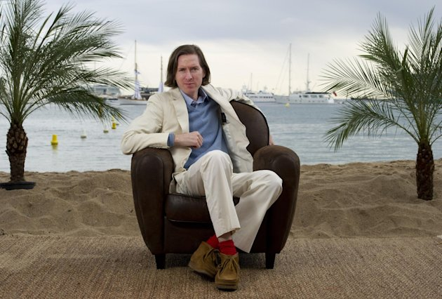 Director Wes Anderson poses for a portrait to promote his film Moonrise Kingdom at the 65th international film festival, in Cannes, southern France, Friday, May 18, 2012. (AP Photo/Jonathan Short)