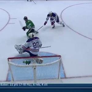 Ryan Garbutt beats Bryzgalov with backhander